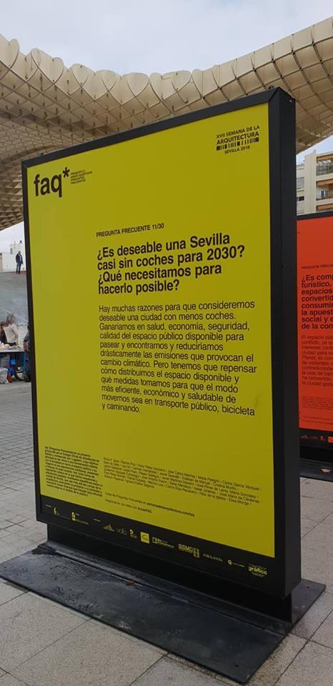 30 arquitectos y arquitectas sevillanas preguntan sobre el uso del espacio público